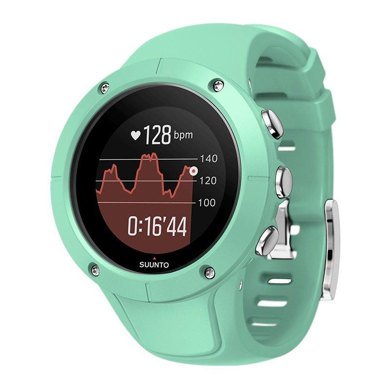 Modré digitální chytré sportovní hodinky Spartan Trainer Wrist HR, Spartan
