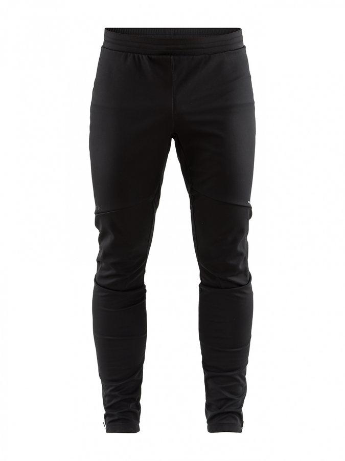 Černé dlouhé pánské cyklistické kalhoty Craft
