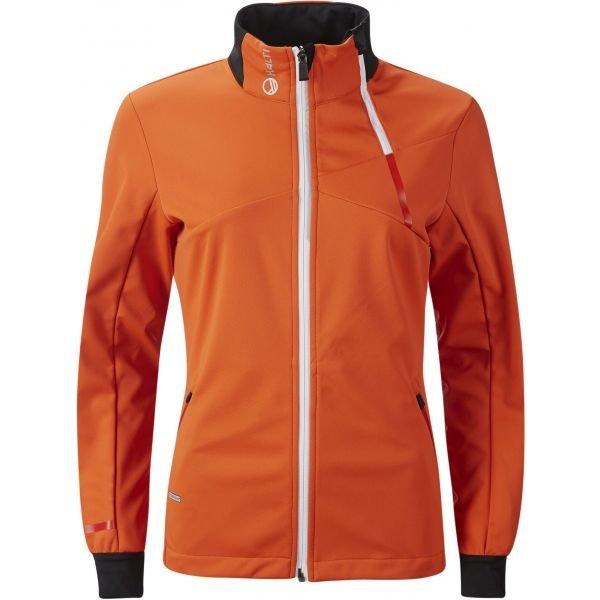 Oranžová dámská bunda Halti