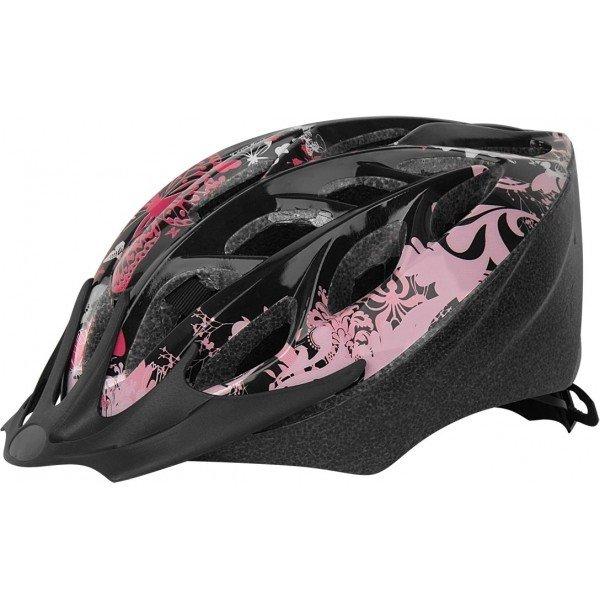 Černo-růžová dámská cyklistická helma Arcore - velikost 50-54 cm