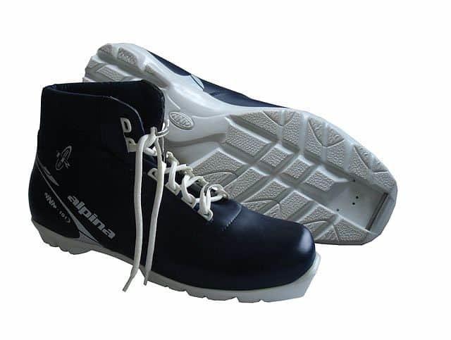 Černé boty na běžky NNN Skol