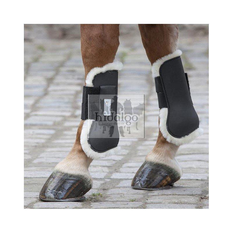 Černé kamaše pro koně Waldhausen - full