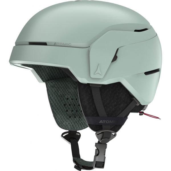 Šedá lyžařská helma Atomic - velikost 48-53 cm