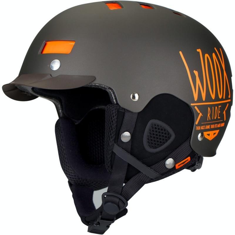 Šedá helma na snowboard Woox - velikost 51-55 cm