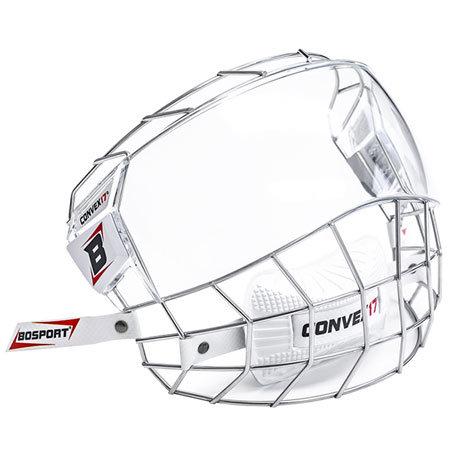 Stříbrná hokejová mřížka Bosport