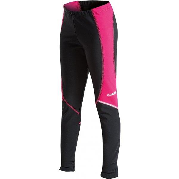 Černo-růžové dívčí kalhoty na běžky Axis