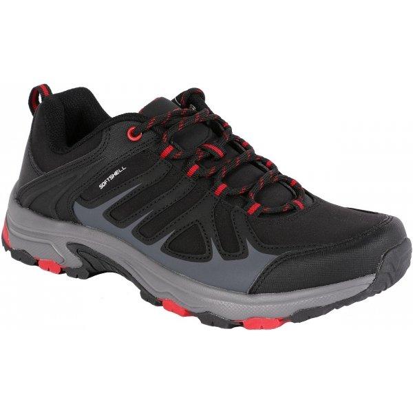 Černé pánské trekové boty Alpine Pro
