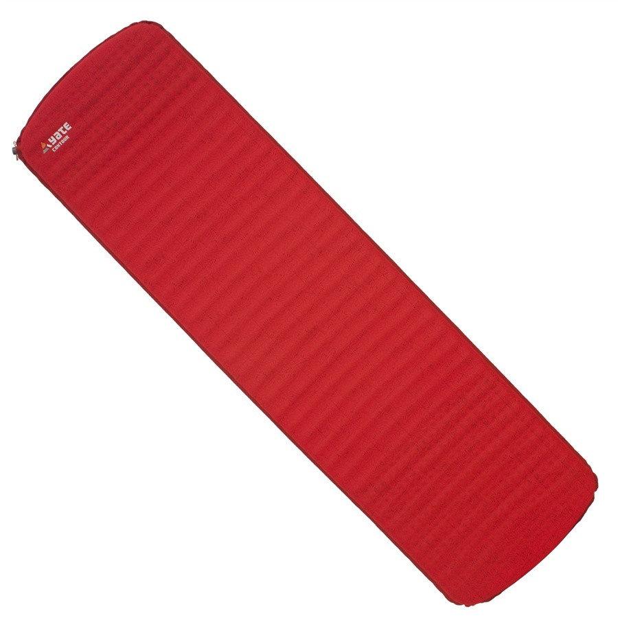 Červená samonafukovací karimatka Yate - tloušťka 3,8 cm