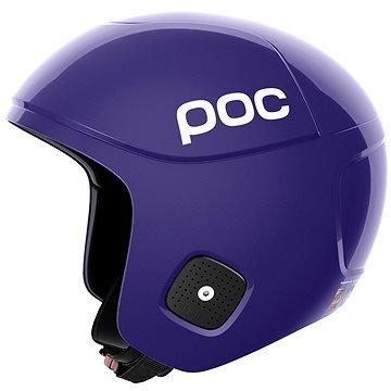 Fialová lyžařská helma POC