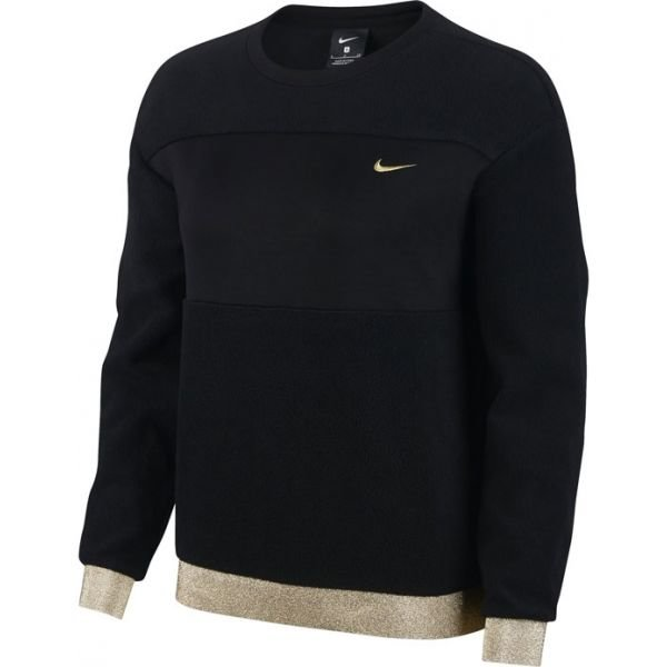 Černá dámská mikina bez kapuce Nike