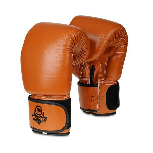 Hnědé boxerské rukavice BUSHIDO