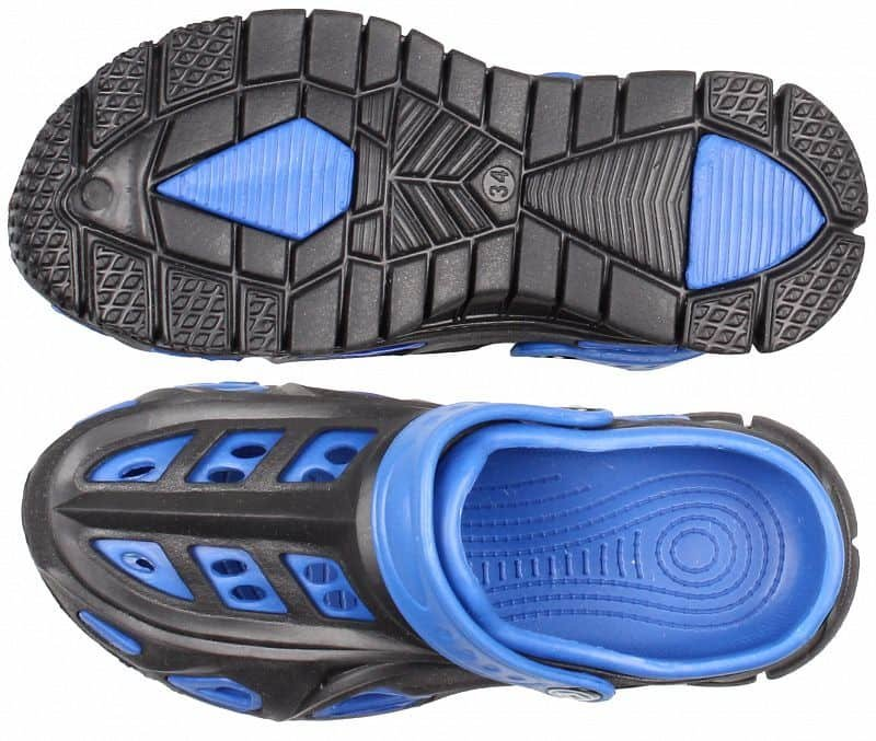 Černo-modré dětské pantofle Aqua-Speed - velikost 24 EU