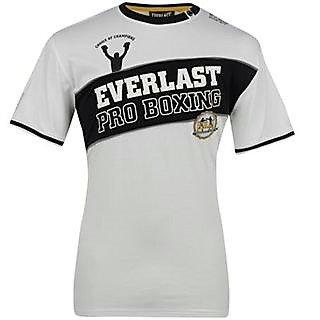 Bílé pánské tričko s krátkým rukávem Everlast - velikost XL