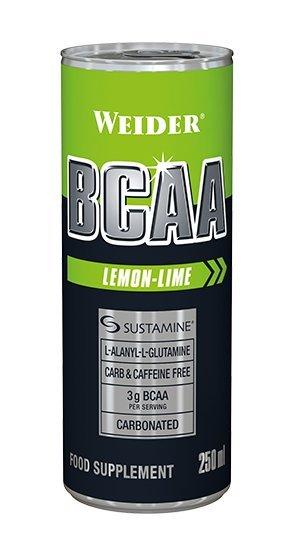 BCAA - BCAA RTD - Weider 250 ml. Lemon-Lime