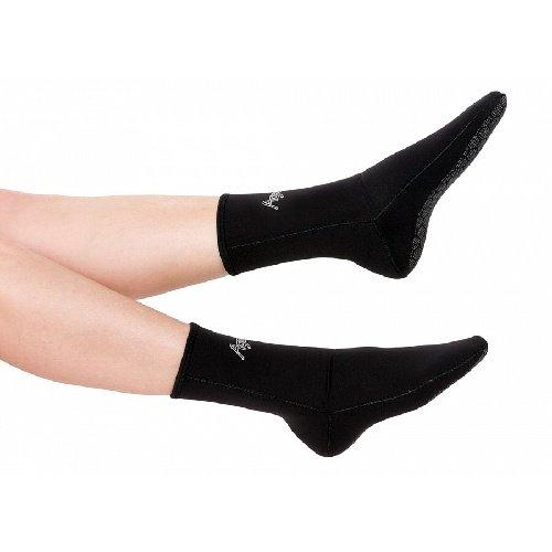 Černé neoprenové ponožky Agama