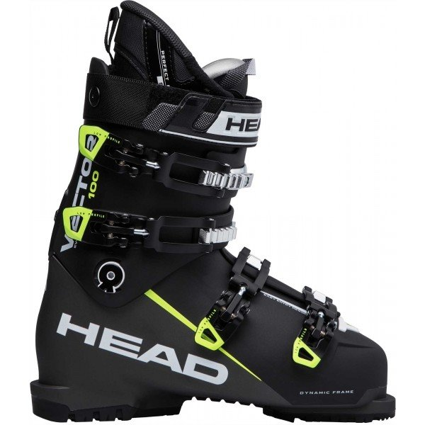 Černé pánské lyžařské boty Head