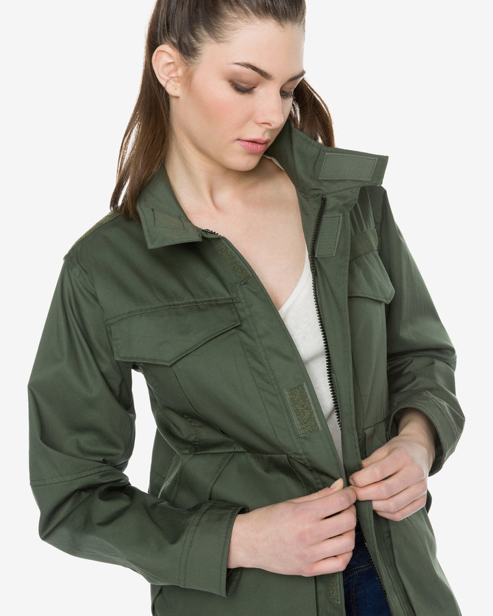 Zelená dámská bunda G-Star RAW - velikost L