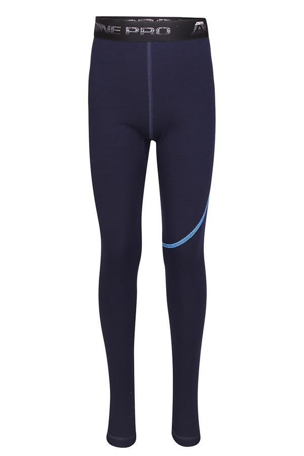 Modré dětské funkční kalhoty Alpine Pro