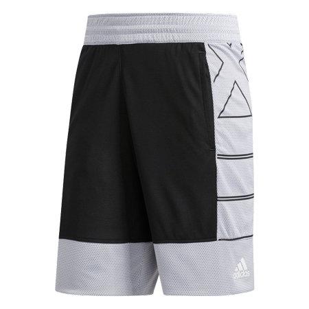 Bílo-černé pánské basketbalové kraťasy Harden, Adidas