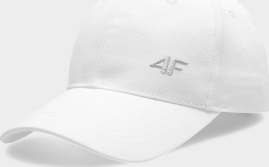 Bílá dámská kšiltovka 4F - velikost S