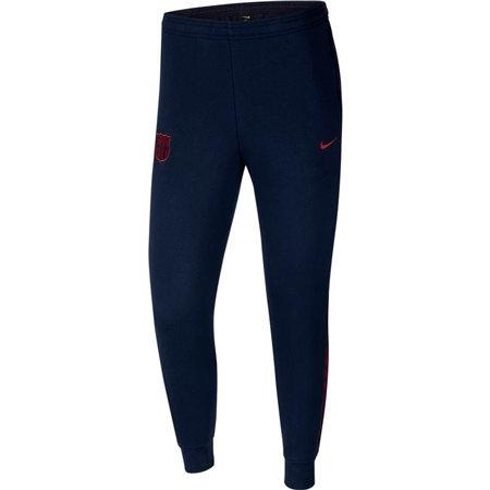 """Modré pánské tepláky """"FC Barcelona"""", Nike - velikost M"""