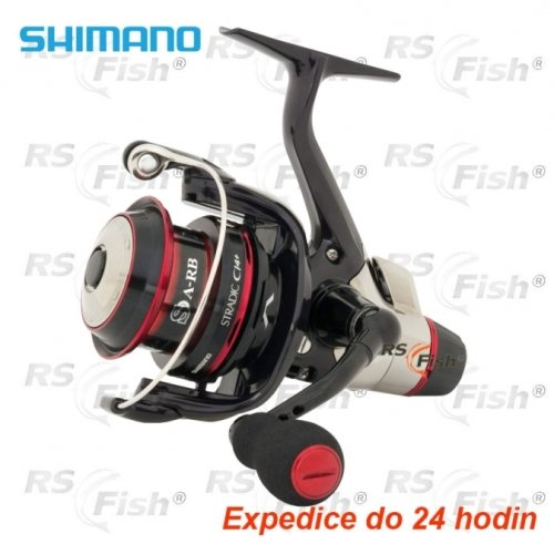 Rybářský naviják - Shimano® Naviják Shimano Stradic CI4+ 2500 RA