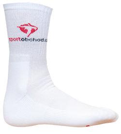 Bílé vysoké pánské tenisové ponožky  ProfiVent - velikost 35-38 EU