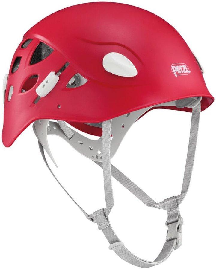 Červená horolezecká helma Petzl - velikost 50-58 cm