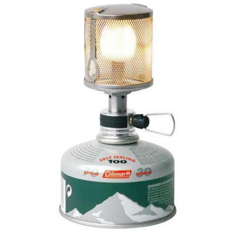 Stříbrná plynová lampa Coleman