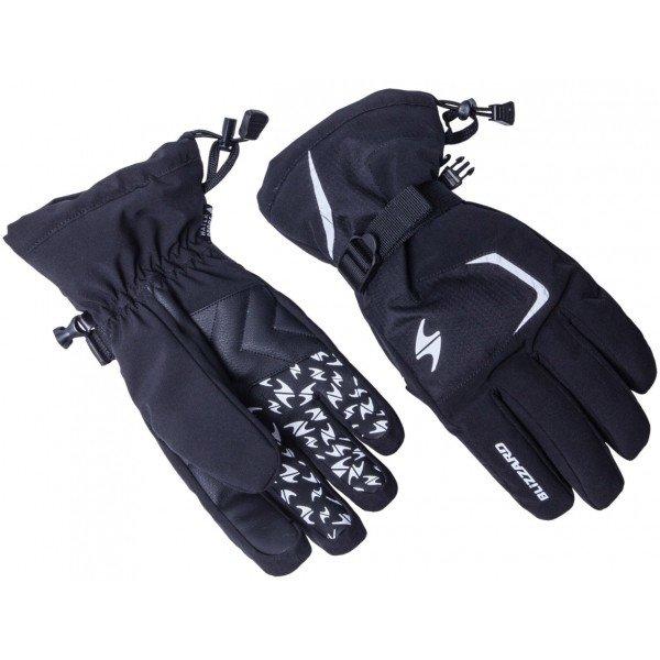 Černé pánské lyžařské rukavice Blizzard