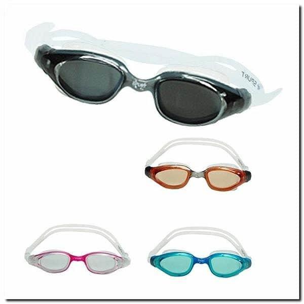 Šedé plavecké brýle UPL02YAF SMOKE, SPURT
