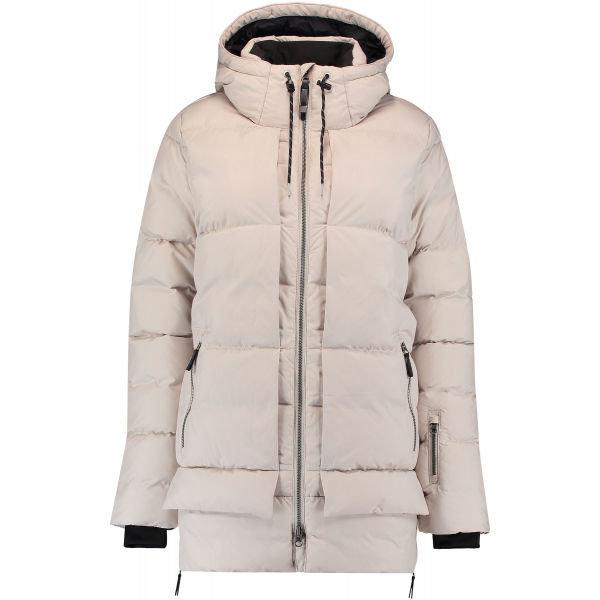 Béžová dámská lyžařská bunda O'Neill