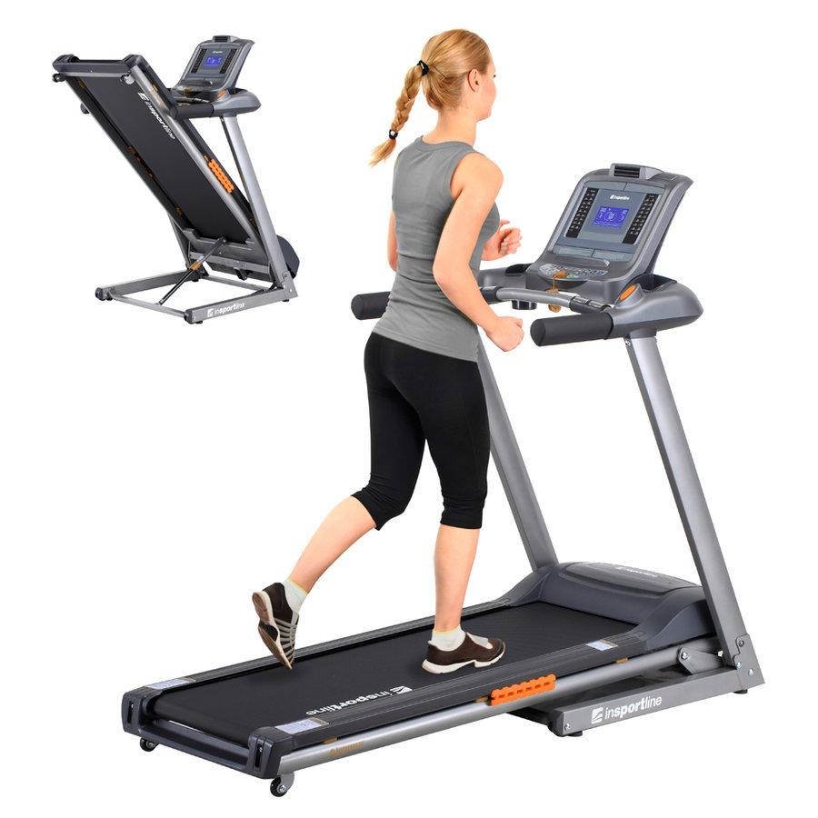 Běžecký pás Akamar, inSPORTline - nosnost 100 kg