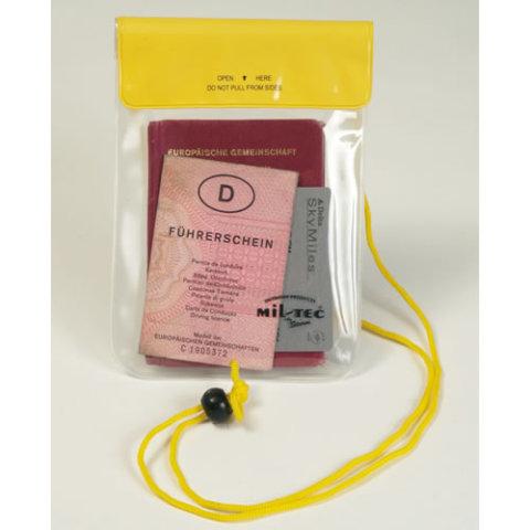Vodotěsné pouzdro - Pouzdro vodotěsné na krk 130 x 200 mm ŽLUTÉ