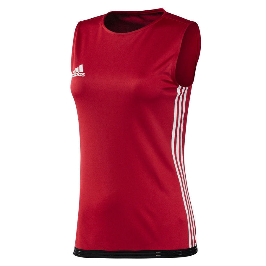 Červené boxerské tílko Adidas - velikost L