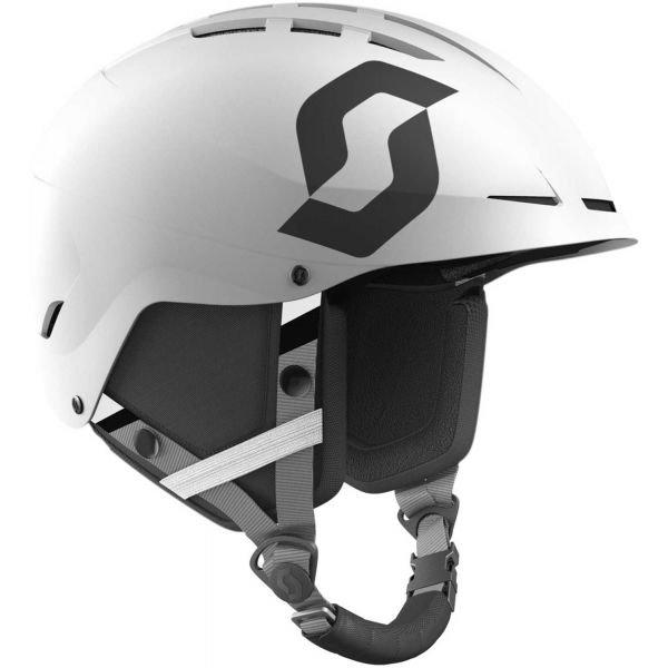 Bílá dětská lyžařská helma Scott - velikost S