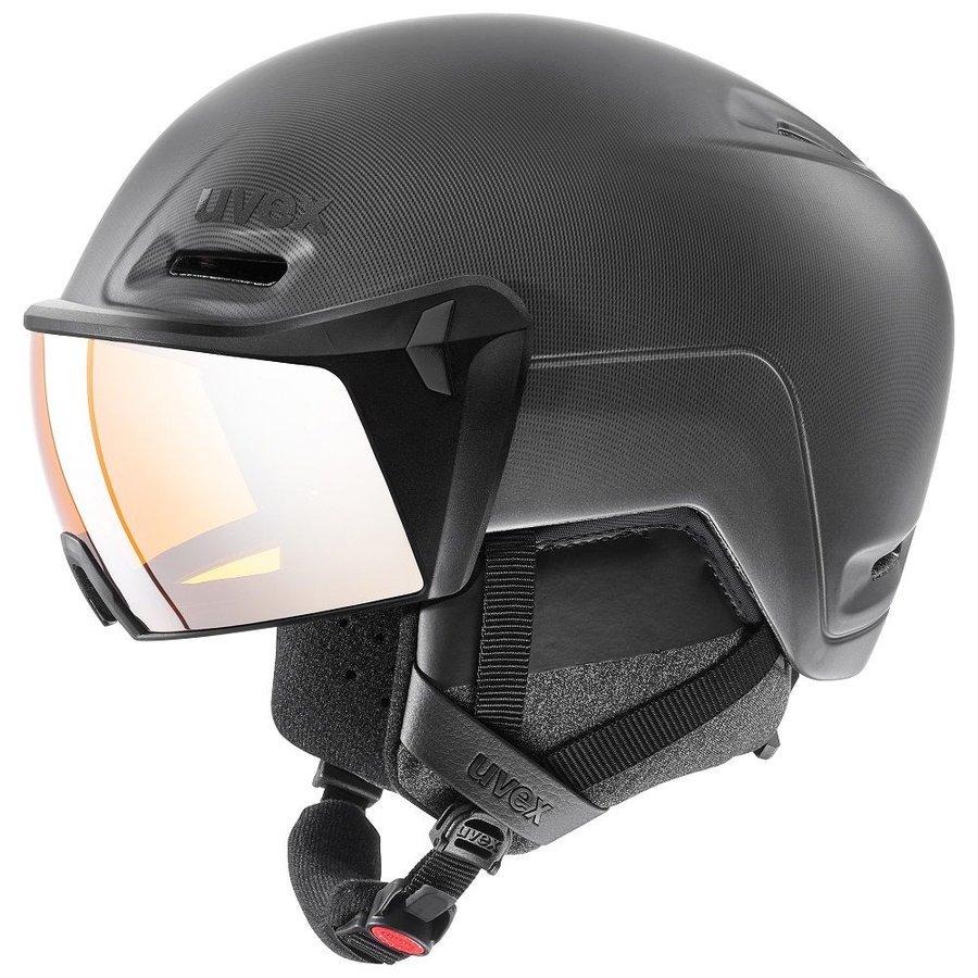 Černá lyžařská helma Uvex