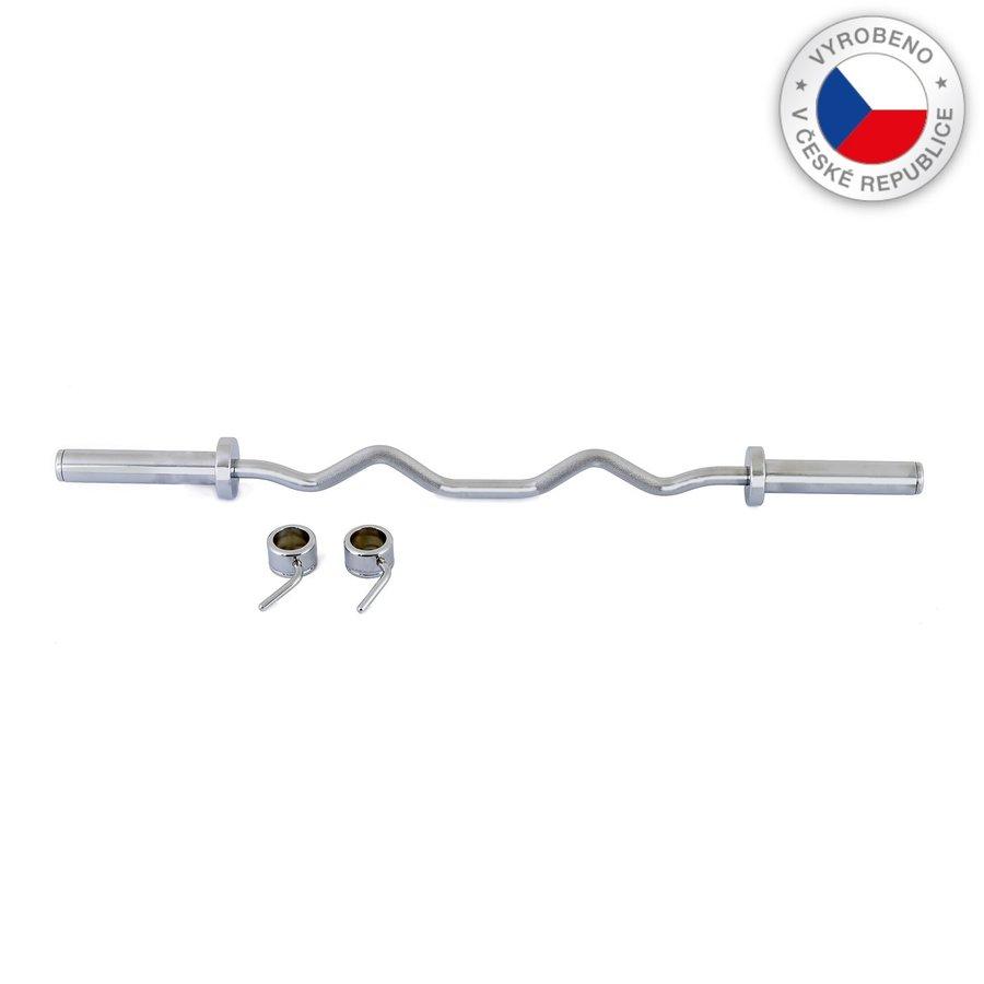 Lomená činková tyč FITHAM - délka 120 cm