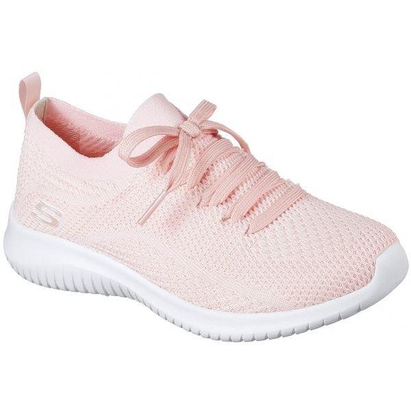 Růžové dámské tenisky Skechers - velikost 41 EU