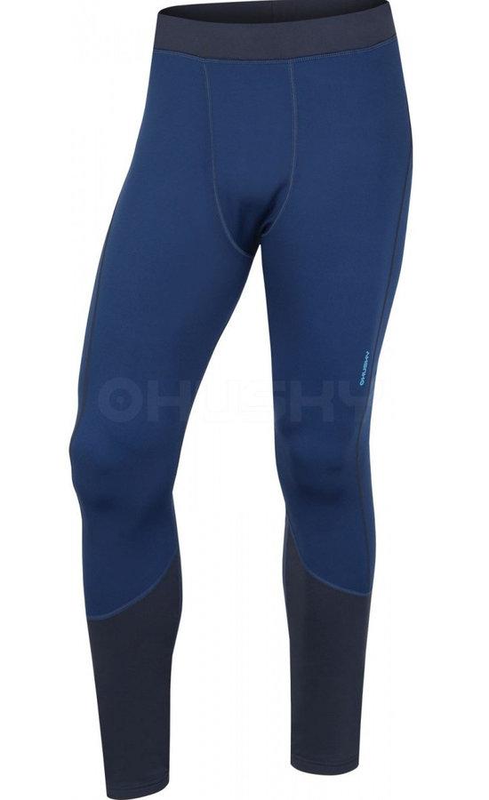 Modré pánské funkční kalhoty Husky
