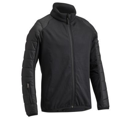 Černá dětská jezdecká bunda Fouganza - velikost 115