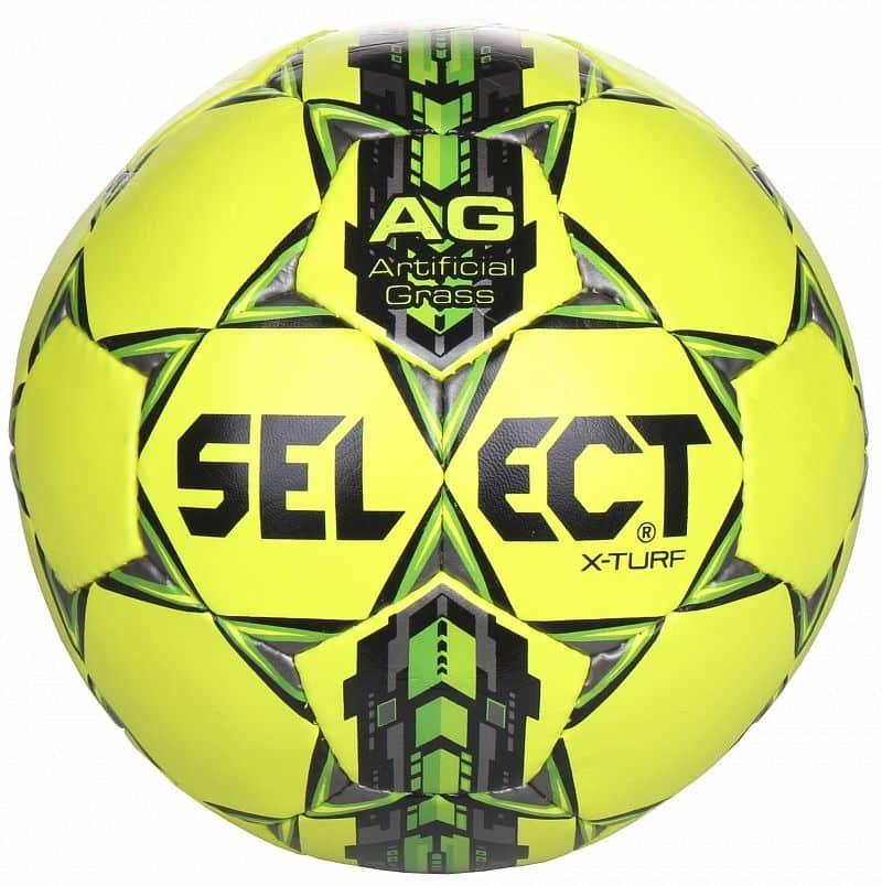 Fotbalový míč - Select X Turf barva: žlutá-šedá;velikost míče: č. 5