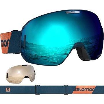 Modré pánské lyžařské brýle Salomon
