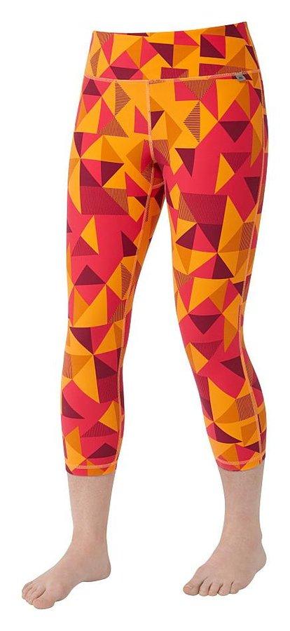 Oranžové 3/4 dámské turistické kalhoty Mountain Equipment