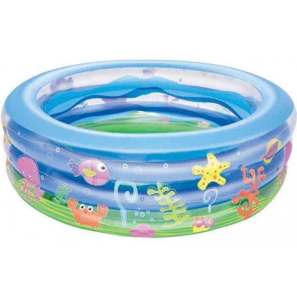 Dětský nafukovací nadzemní kruhový bazén Bestway - průměr 152 cm a výška 50 cm