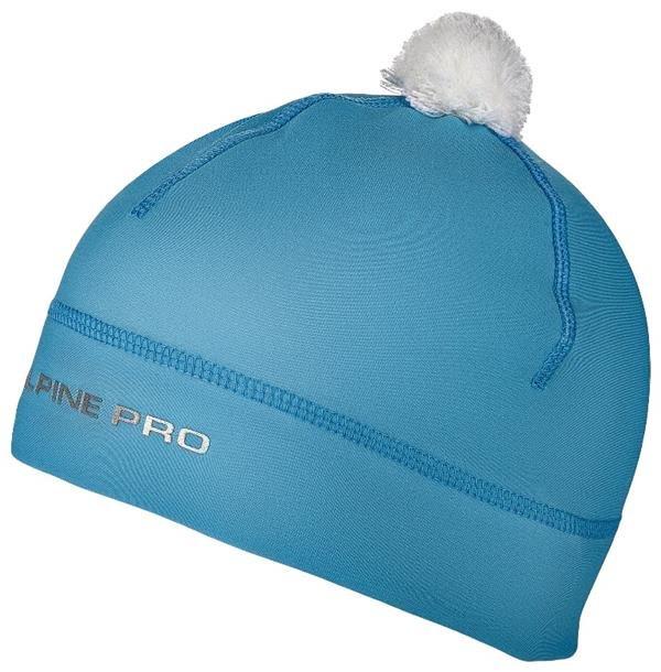 Modrá dětská zimní čepice Alpine Pro