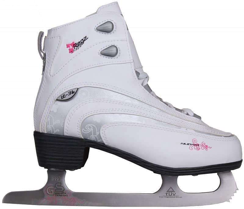 Lední brusle - Décor dámské brusle velikost (obuv / ponožky): 42