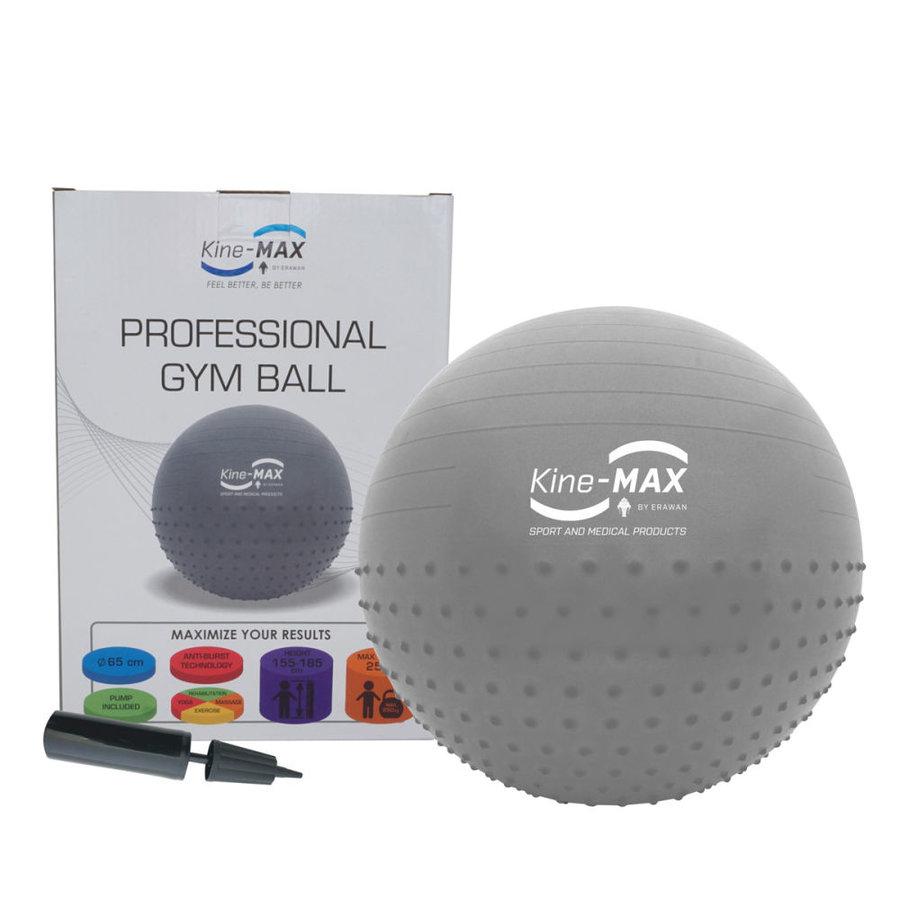 Modrý gymnastický míč s pumpou Nike - průměr 65 cm