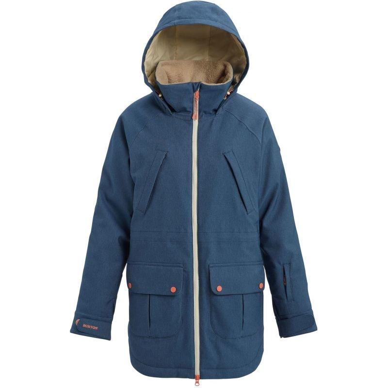 Modrá dámská snowboardová bunda Burton - velikost S