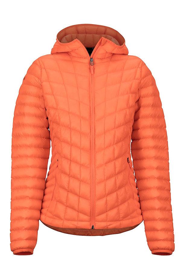 Oranžová dámská bunda na běžky Marmot